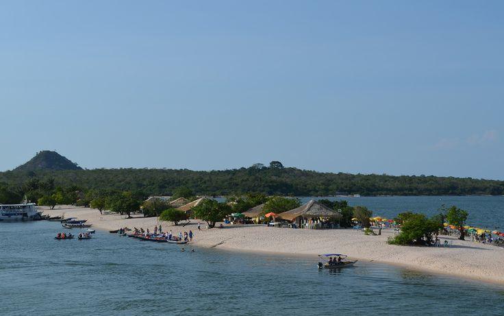 Alter do Chão foi eleita pelo jornal britânico 'The Guardian' , em 2009, a praia mais bonita do Brasil.18/10/2013.