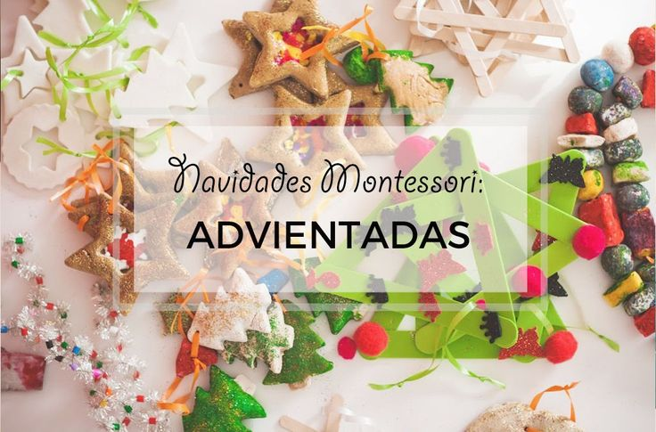 Navidades Montessori: Advientadas mini libro gratuito
