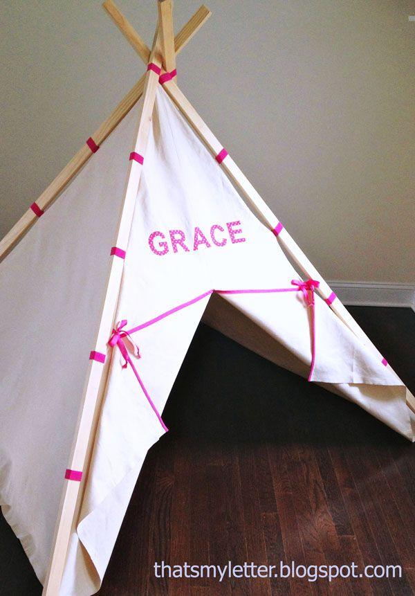 25 best teepee tutorial ideas on pinterest teepee tent kids tipi diy and diy teepee. Black Bedroom Furniture Sets. Home Design Ideas