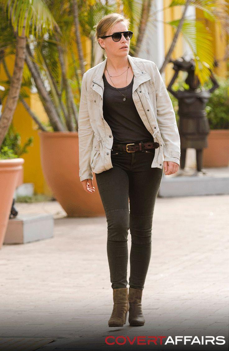 """Annie Walker - Season 5 """"False Skorpion"""" - Covert Affairs"""