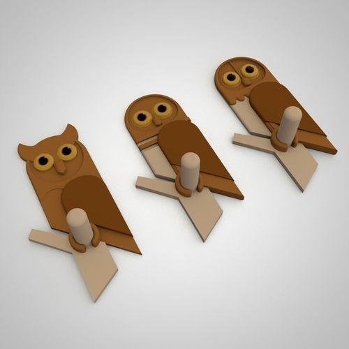 owl hanger | 3D Print Model  3d модели на заказ merzliakovdenis@yandex.ru