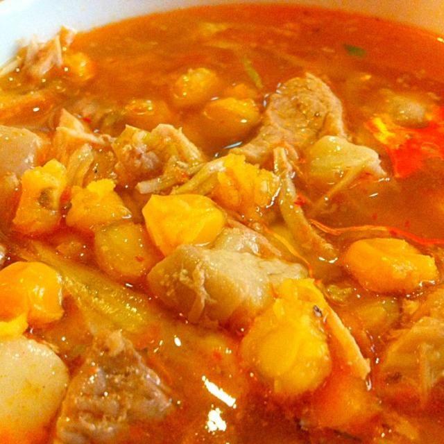 レシピとお料理がひらめくSnapDish - 7件のもぐもぐ - Pozole rojo by Jorge Bernal Márquez