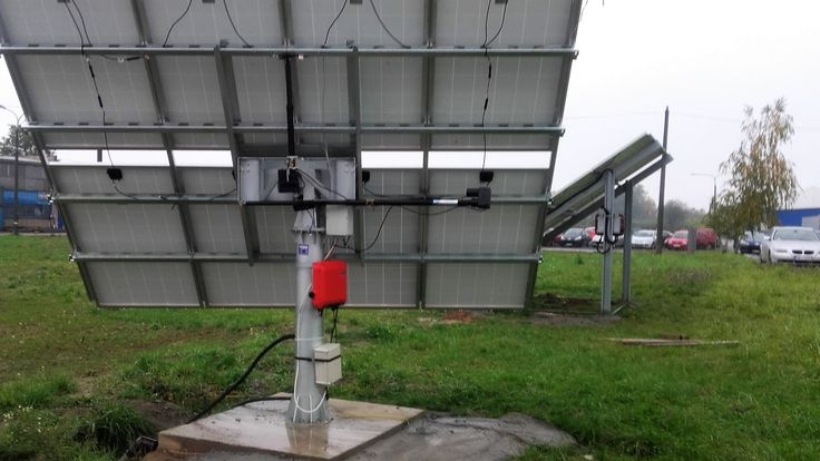 Solar tracker, system nadążny 2.0 kWp 8 paneli