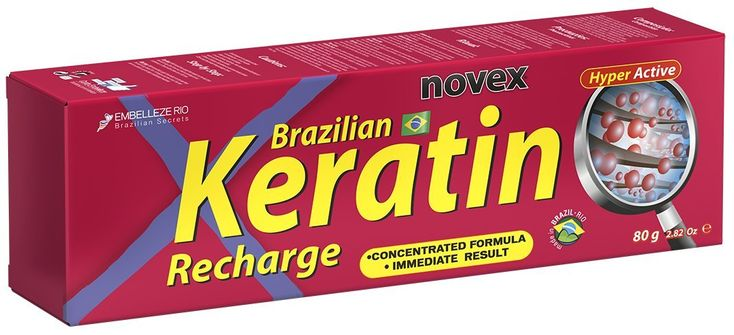 Brazilian Hair Tratment Keratin Recharge (Recarga de Queratina) by Embelleze - Pack of 6 -- This is an Amazon Affiliate link. Check this awesome product by going to the link at the image.