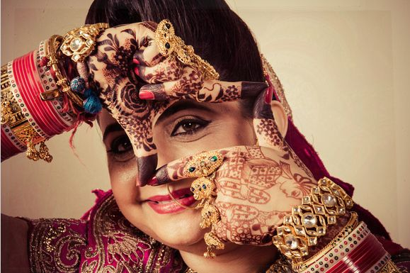 #IndianBride #Weddings #WeddingPhotography #BridalPortrait