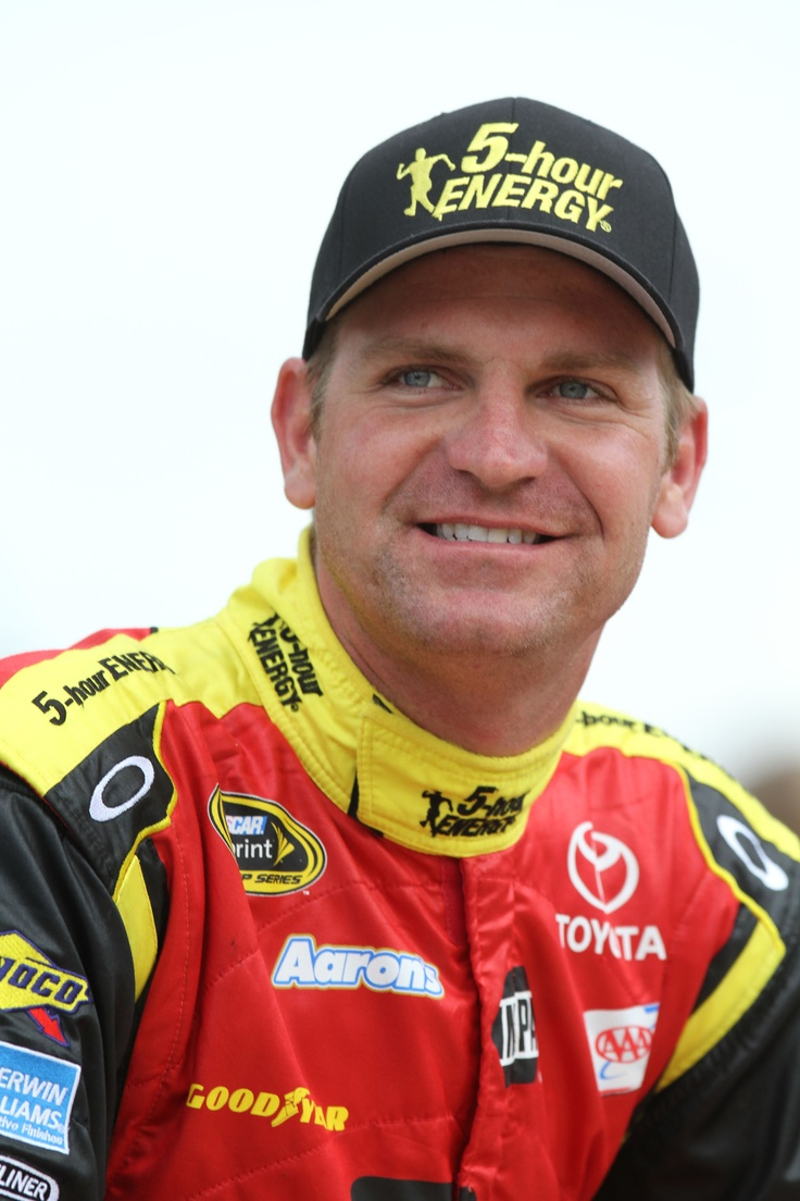 Clint Bowyer, this crush was my husbands fault. I didn't watch NASCAR until I met him. :)