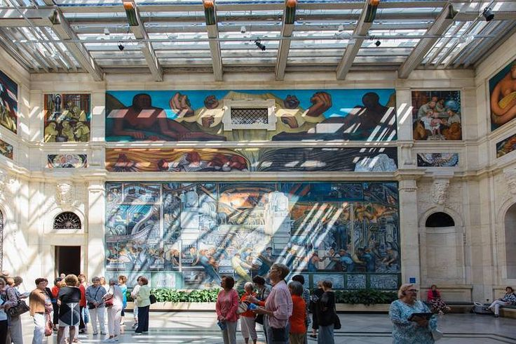 An insider s guide to detroit the o 39 jays detroit and for Diego rivera mural detroit institute of arts