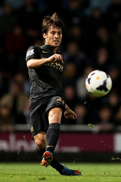 David Silva - West Ham United v Manchester City - Premier League