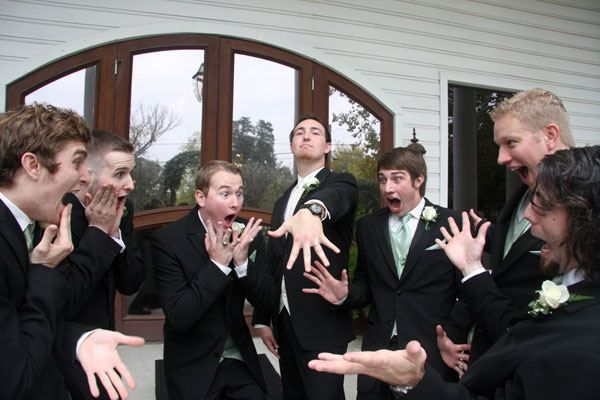 This is just a wow pic for the groom
