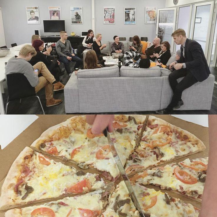 Pari viikkoa sitten Mediaplanet piti hyvän viikon lopuksi pitsaperjantain! #mediaplanet