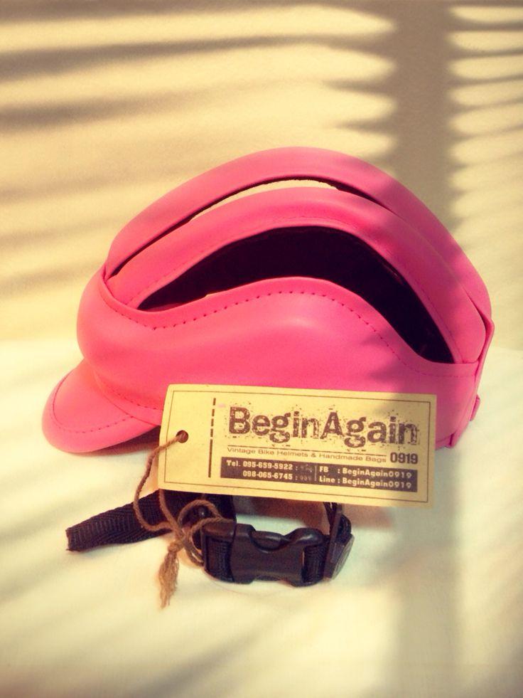 Vintage Bike Helmets by BeginAgain0919 ID: BG08