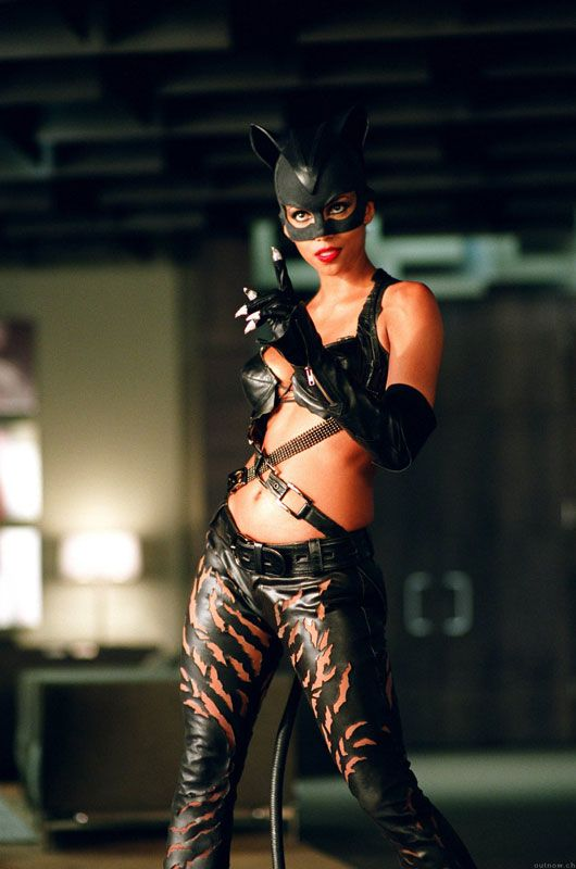 well, hello there! Halle Berry as Catwoman, 2004.