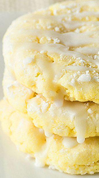 Glazed Lemon Sugar Cookies