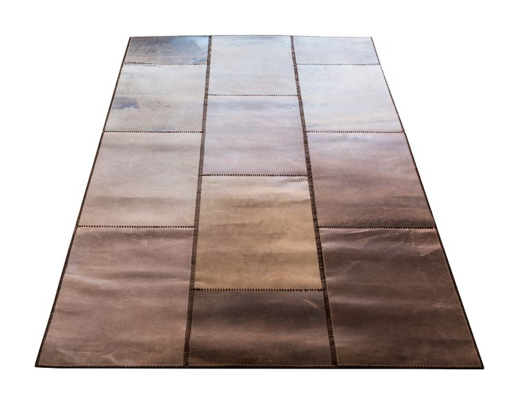 LEATHER RUG by Massimo