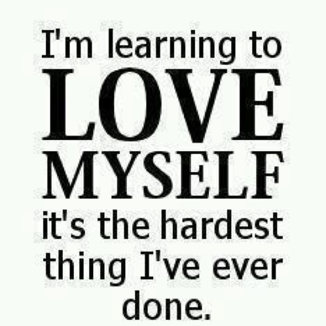 Quotes About Loving Yourself 82 Best Learning To Love Myself Images On Pinterest  Words Self