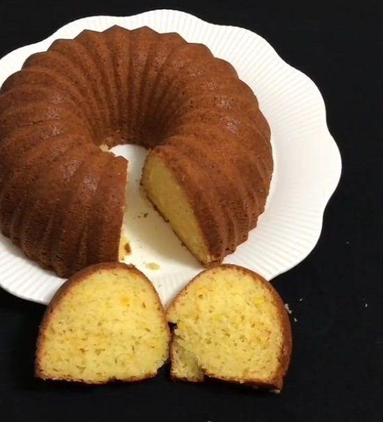 Kolay Portakallı Kek Tarifi, Nasıl Yapılır