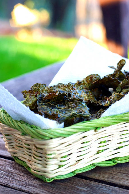 Red Shallot Kitchen: Cajun Spiced Kale Chips