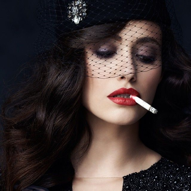 Emmy Rossum absolutely classless and gross smoking fashion ...
