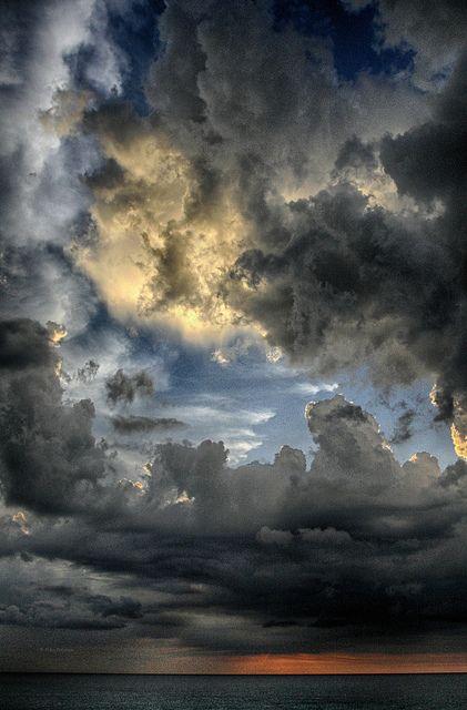 ~~Cuba ~ dramatic clouds over the Caribbean, Havana, Cuba by Polis Poliviou~~