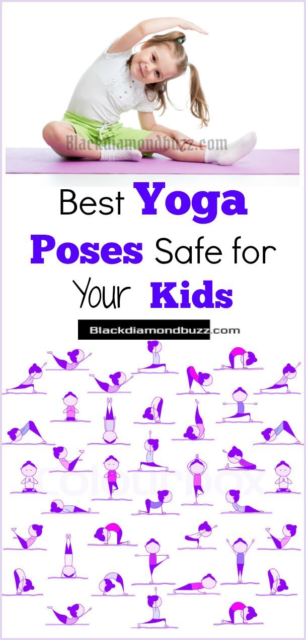 Yoga Poses For Kids - 5 Easy Best Yoga Poses Safe For Your Kids,Toddlers, and Preschoolers at Home. #kids #yoga #yogapose #fitness #health