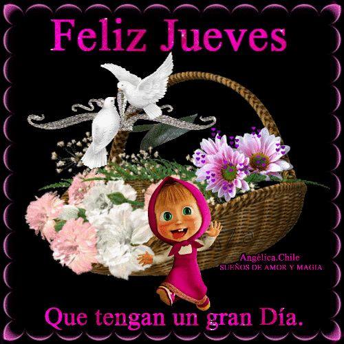 SUEÑOS DE AMOR Y MAGIA: Feliz Jueves