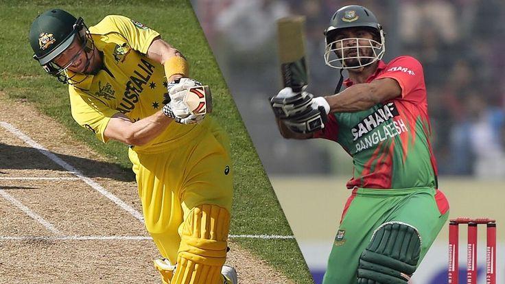 Australia vs Bangladesh ICC Cricket World Cup 2015 Watch Live Online | CRICKET NEWS