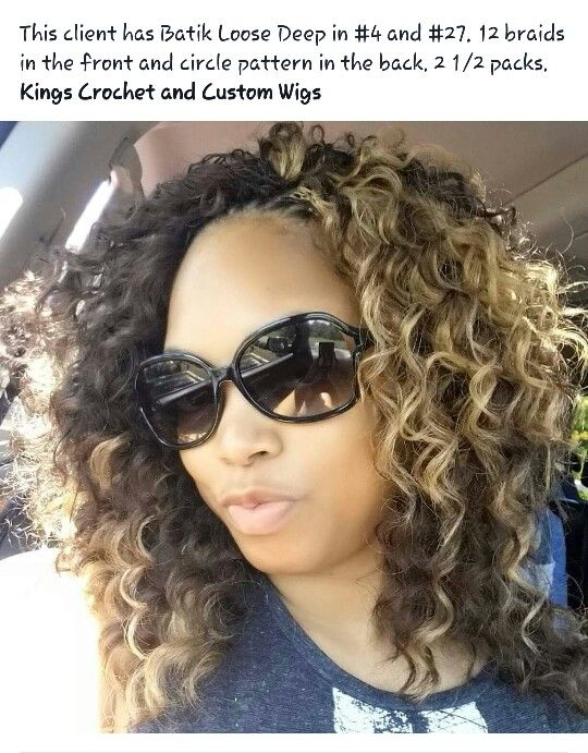 Crochet Hair Loose Deep : about Crotchet Braids on Pinterest Freetress bohemian, Tree braids ...