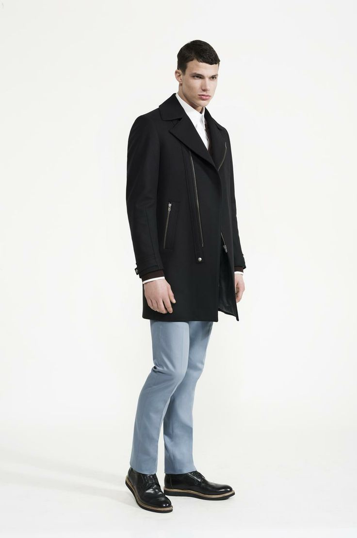 Calibre - Stretch Two Shirt | Biker Coat | Knit Bomber | Sanded Pant | Wedge Derby Boot