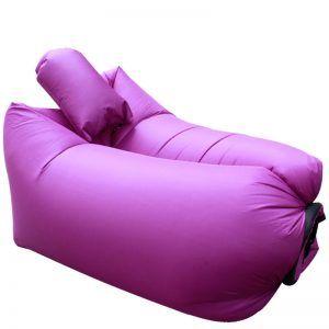 Sofa auto-gonflant Hamac gonflable  Violet