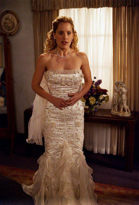 Emma Caulfield (as Anya) in Buffy the Vampire Slayer. Anya and Zanders wedding Day , Not