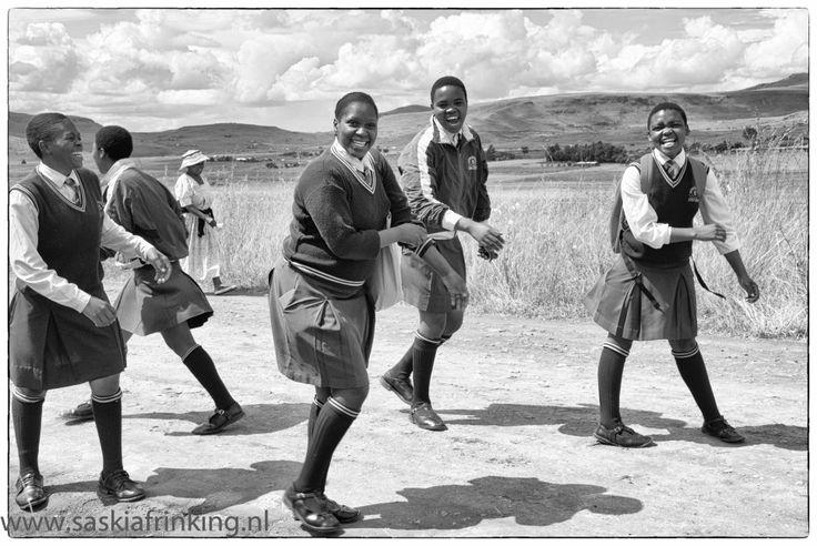 South-African school girls