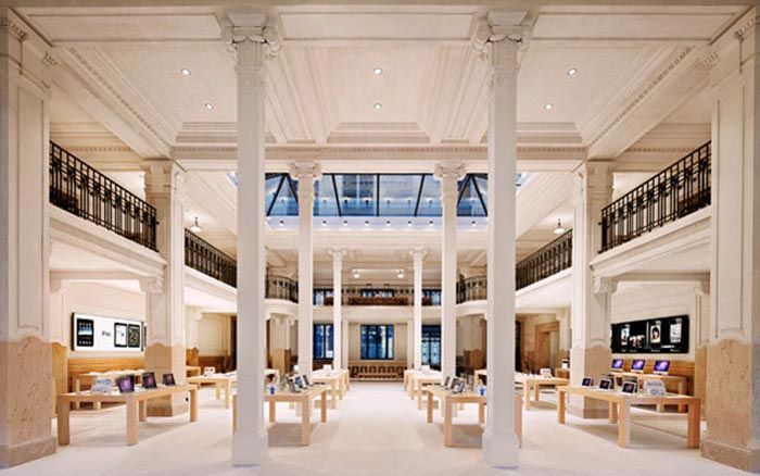 Apple Opera Store in Paris France