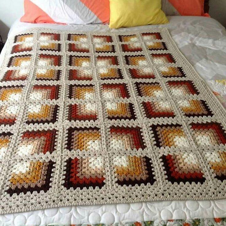 Crochet afghan inspiration.