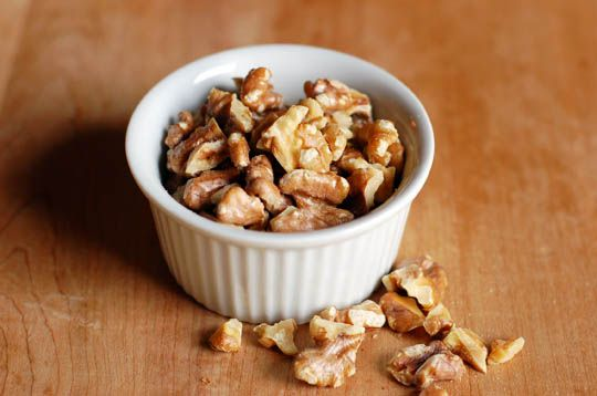 How to Toast Nuts in the Microwave by apartmenttherapy: Less chance of burning them! #Nuts #Toasted_Nuts #apartmenttherapy