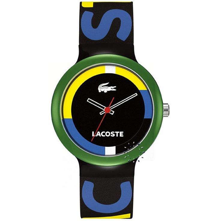 LACOSTE GOA Black Rubber Strap Μοντέλο: 2020031 Η τιμή μας: 59€ http://www.oroloi.gr/product_info.php?products_id=26954