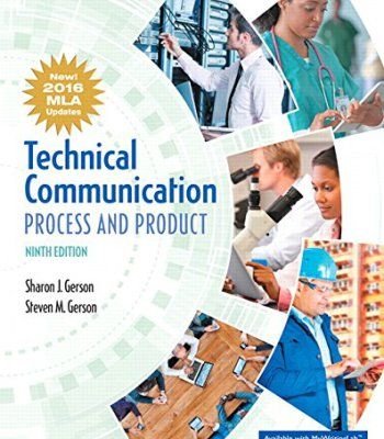 Technical Communication: Process and Product, MLA Update (9th Edition) PDF