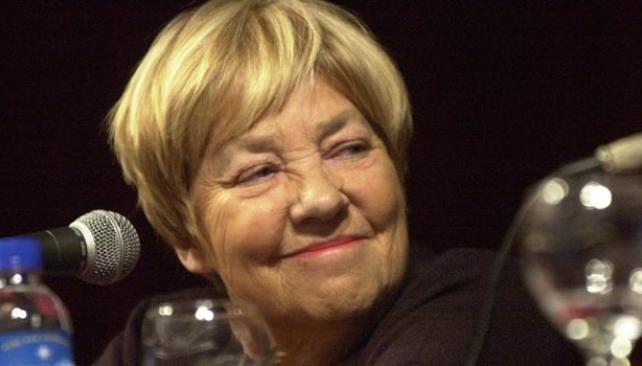 María Elena Walsh, escritora y compositora argentina.