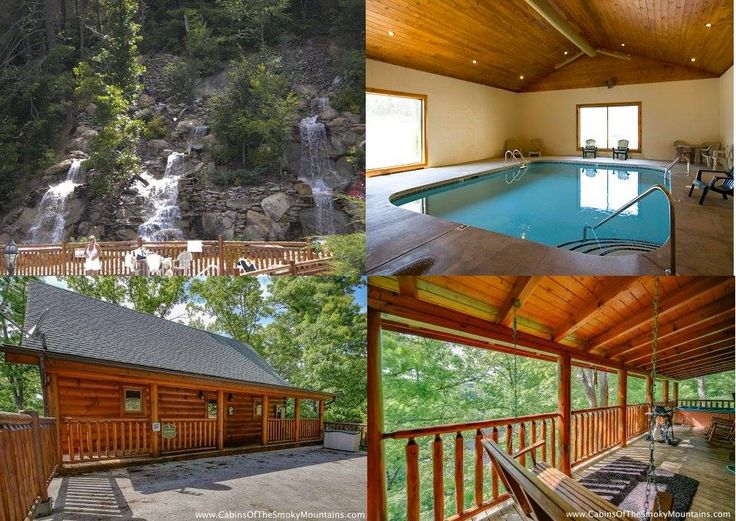 Not quite roughing it in the Smoky Mountains in these luxury rental cabins near Gatlinburg.