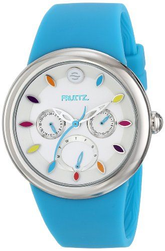 Fruitz by Philip Stein Unisex F43STFTQ Analog Display Japanese Quartz Blue Watch -- Learn more by visiting the image link.