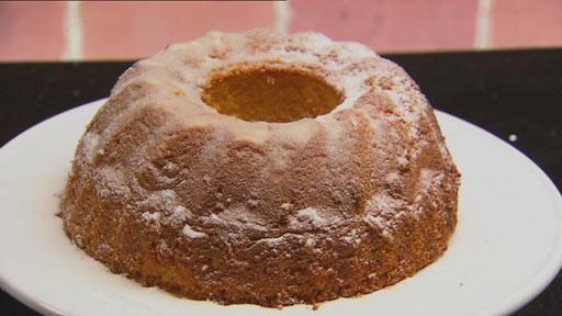 Lemon Ciambella Cake with Lemon Infused Creme Anglaise and Coconut Lemon Caramel   MasterChef Australia