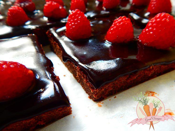 Brownie z resztek po soku z sokowirówki