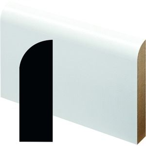 Wickes Fully Finished MDF Large Round Skirting 14.5x94x2400mm Pack 4