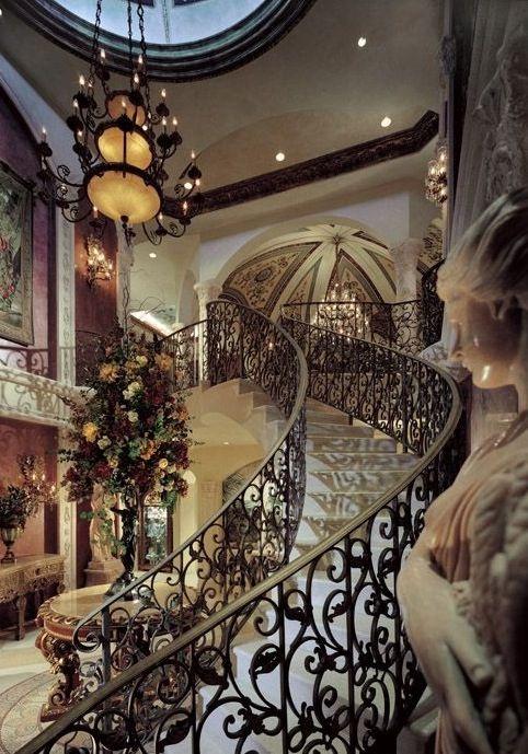 Luxury mansions homes pools interiors bathrooms kitchens interior design pinterest - Beautiful housw design gallary ...