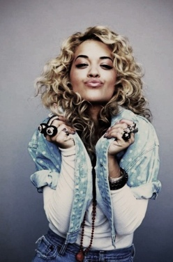 Rita Ora- because she's clearly talented.. and because the man #jayz signed her at 17.