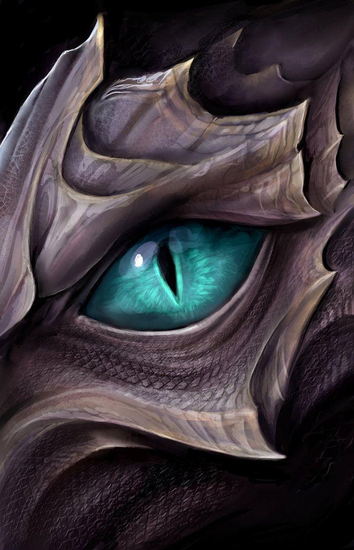 Dragon eye by TatianaMakeeva.deviantart.com on @DeviantArt