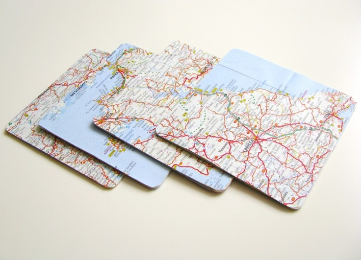 Breslo :: Breslog — Suport pahare cu hărți