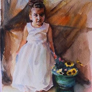 Vasiliki Dimtsiou #gallery #children #watercolor #contemporaryart #vasilikidimtsiou #art #artist #artwork #artgallery #greece #greekart #greekartist