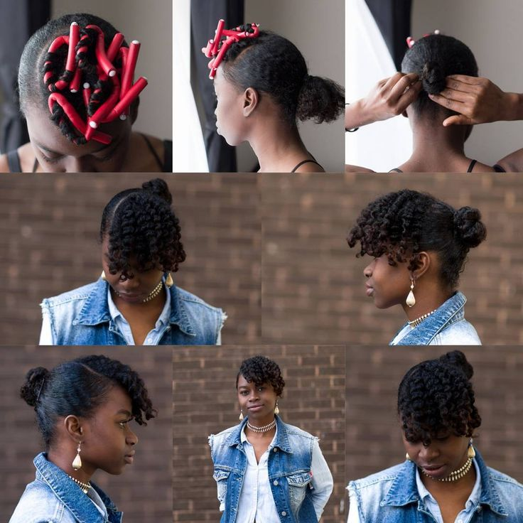 Easy peasy lemon squeezy. This is another go to hair style of mine. All you need to do us prep the front for your curls. I used ecostyler gel with olive oil and cantu coconut curling cream for the whole look