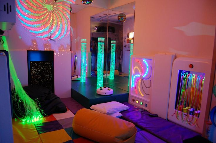 A very cool compact sensory space
