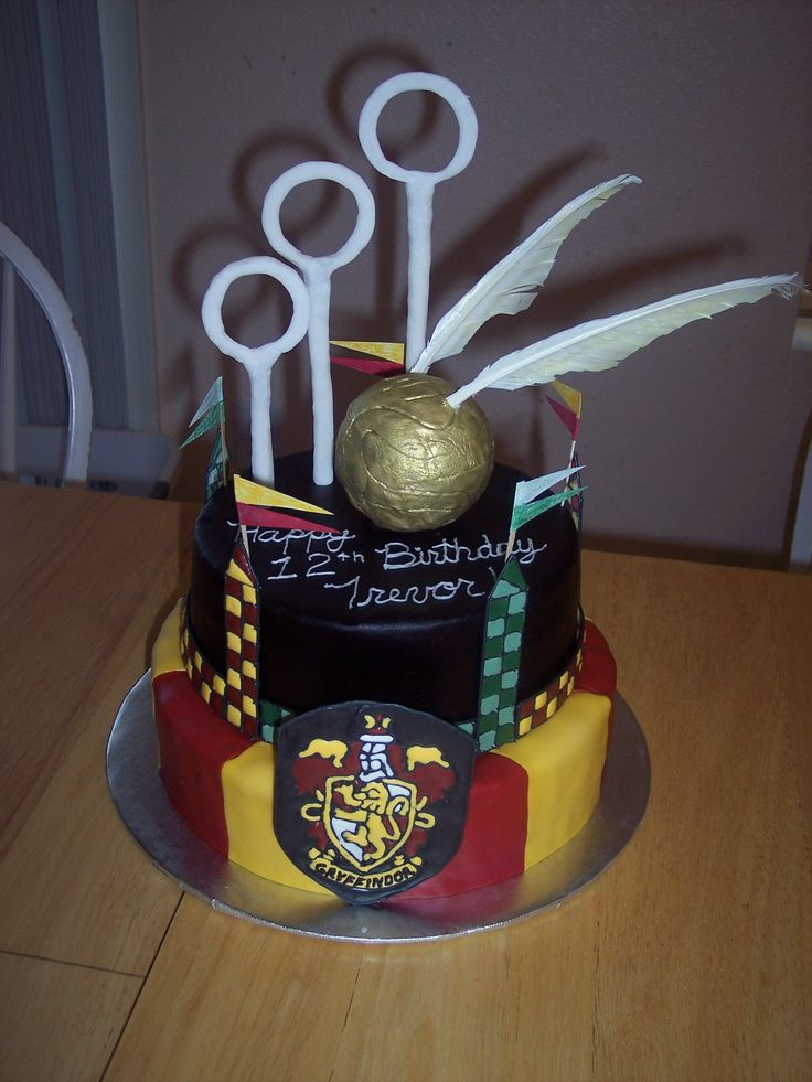 709 Best Harry Potter Cakes Images On Pinterest Harry